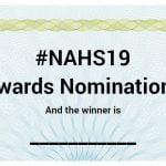 #NAHS19 Awards
