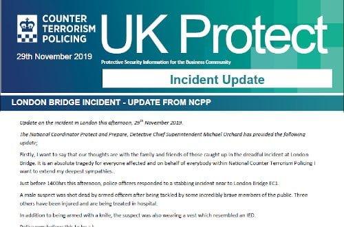 UK Protect London Bridge Incident