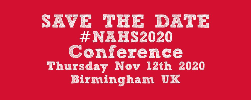 NAHS Conference Newsletter 2019